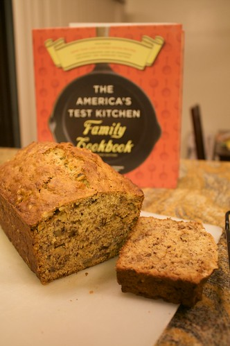 Banana Bread from the ATK Family Cookbook
