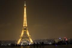 Eiffel Tower (N_C_G) Tags: longexposure light paris france tower night eiffeltower eiffel trocadero fotocompetitionbronze