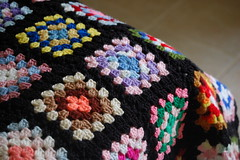 warm and cozy (Stephanie Caldwell) Tags: cozy colorful handmade blanket afghan layered mulitcolor sfgirlbybay