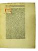 Title incipit and manuscript initial in Petrarca, Francesco: Secretum de contemptu mundi