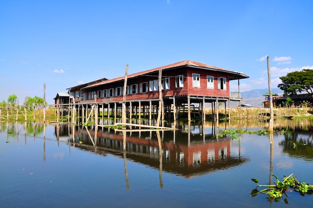 School on the lake