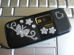 My phone with stickers