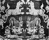 Egyptian woven, Sassanian inspired, 7thc Berlin Museum (julianna.lees) Tags: ancient silk textiles sassanian