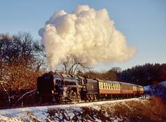 92212 at Hay Bridge (geoffspages) Tags: snow geotagged railway steam severnvalleyrailway 92212 uksteam geo:lat=52496238 geo:lon=2397466