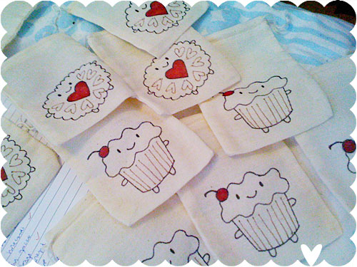 Cakeify and Friends mini bags