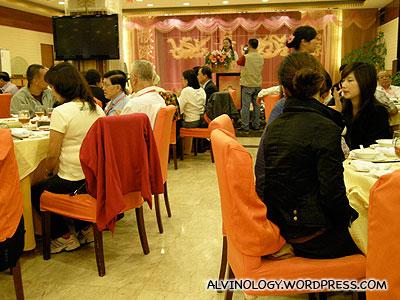 After lunch karaoke