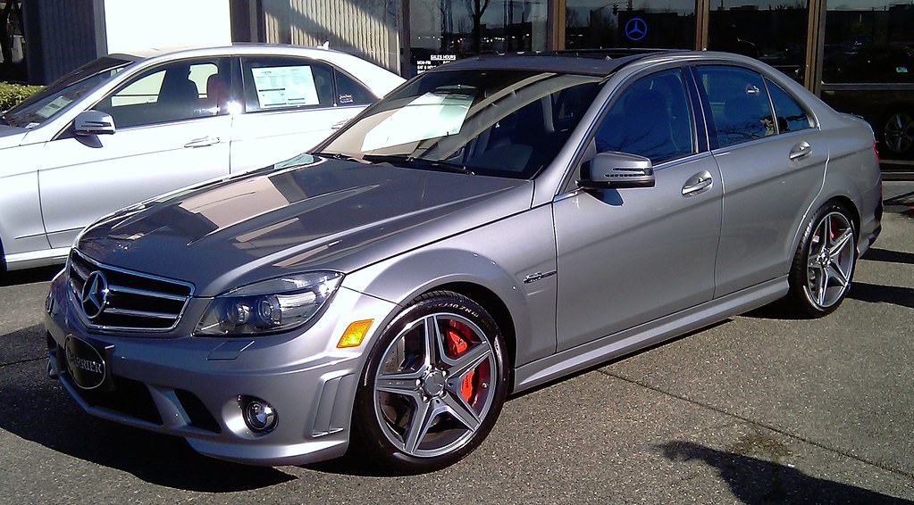A 2010 C63 Amg P31 Palladium Silver Is Mine Mbworld
