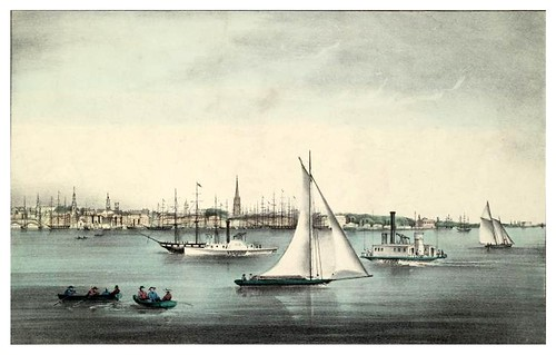 014-New York desde Jersey City 1849-The Eno collection of New York City-NYPL