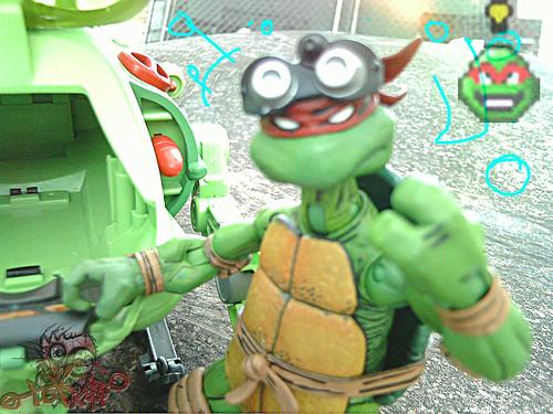 Teenage Mutant Ninja Turtles :: SHELL SUB..; Donatello Cousteau