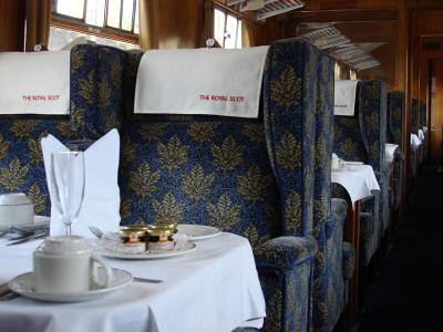 Heritage train for charter in the UK