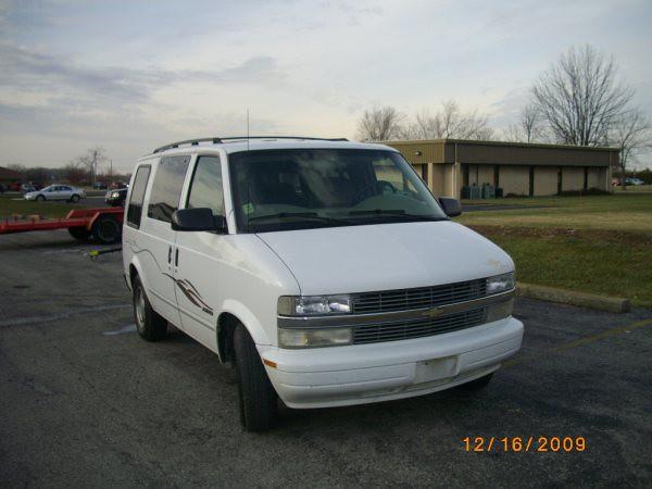 2001 astro chevy van