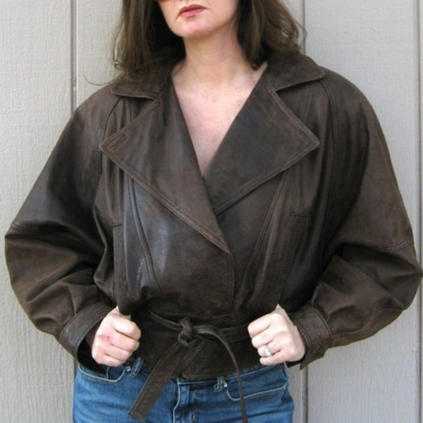 Bomber jacket secondhand Etsy Nickiefrye