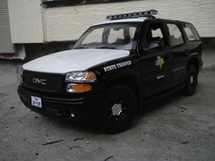 1:18 Texas DPS Yukon (Jack's Police Cars) Tags: trooper car truck highway state police nypd chp custom suv patrol 118 dps fhp