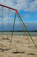 Swing at the beach (matthewgrocott) Tags: deutschland schleswigholstein laboe landschft