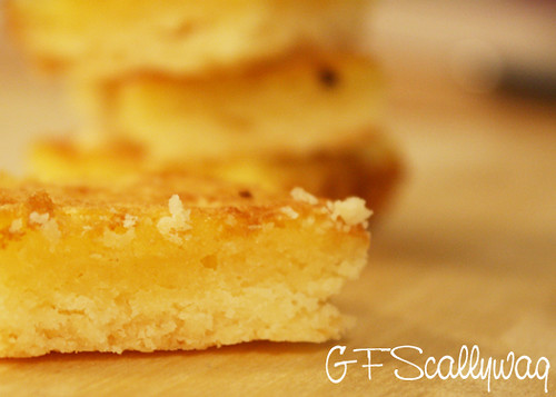 Gluten Free Scallywag Gluten Lactose Free Lemon Bicuit Slice Light