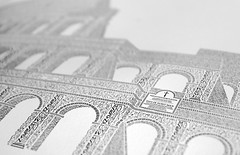 Detail (Cameron Moll) Tags: rome roma poster colosseum coliseum letterpress colosseo