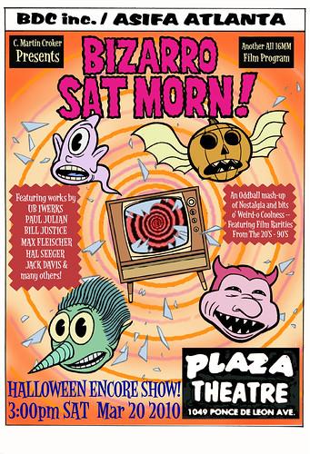 BIzarro Sat Morn 2 Encore (Halloween themed!)