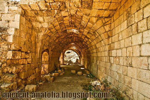 Inside Fortress of Seleucia