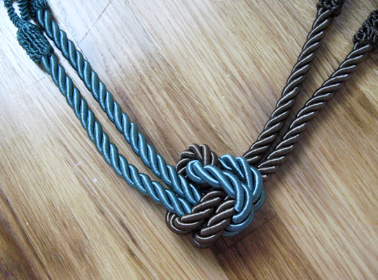 DIY Rope Necklace 4
