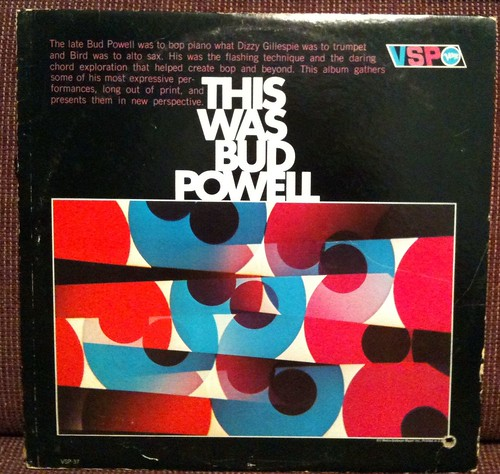 Bud Powell - This Was Bud Powell LP