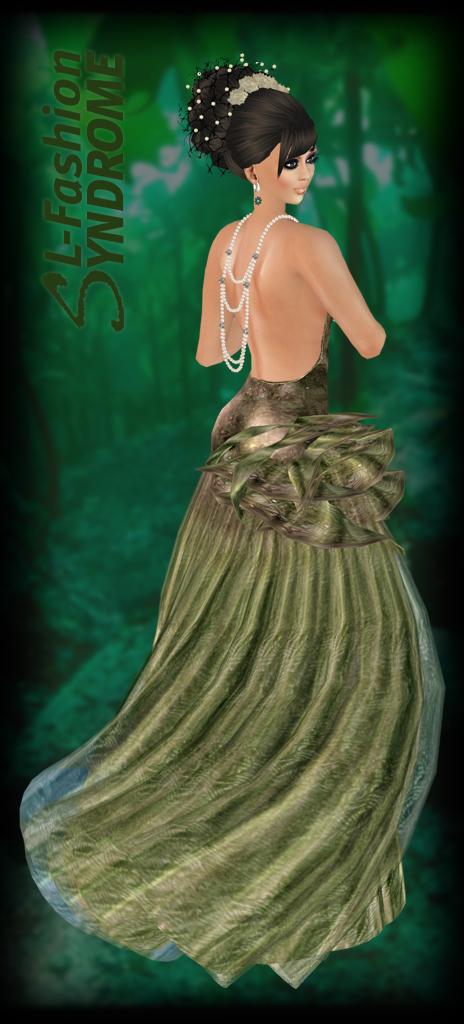 Miamai Kerelle Gown Forest 2