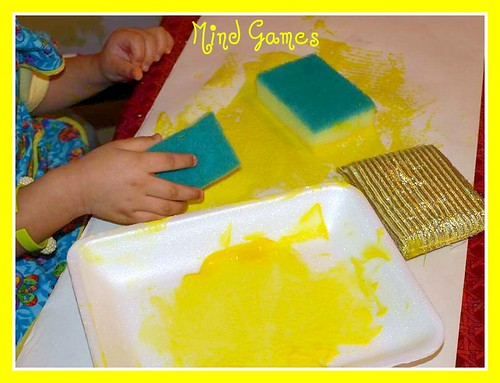Paint and Sponges