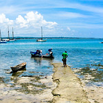 Leaving for Bongoyo at Slipway in Dar Es Salaam