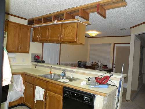 What Is A Kitchen Soffit And Can I Remove It: Removing Cabinets & A Wall