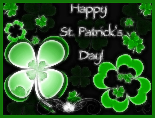 Happy St Patricks Day to Flickr Friends