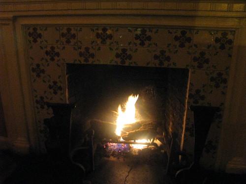 Perro Salado Fireplace