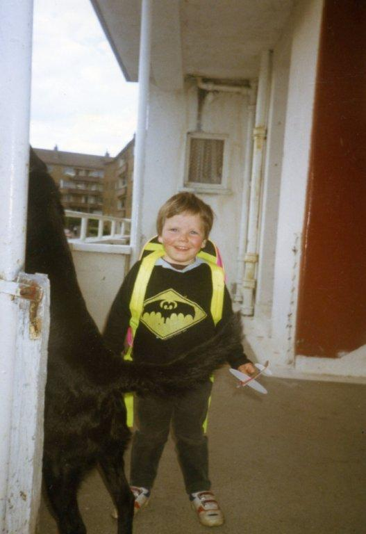 Chris Callahan  as Batman, 1973.
