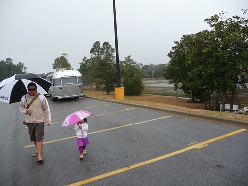 rain at walmart.