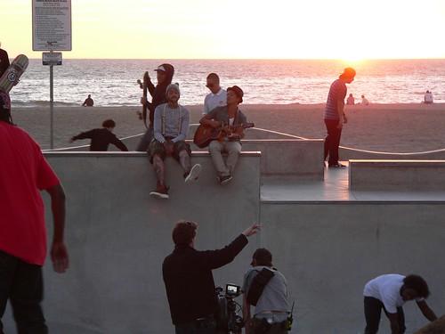 Travis McCoy Music Video Venice Beach