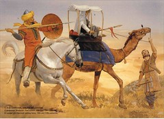 muslim warriors (cool-art) Tags: horse muslim islam camel warriors cavalry arabs crusades saracen