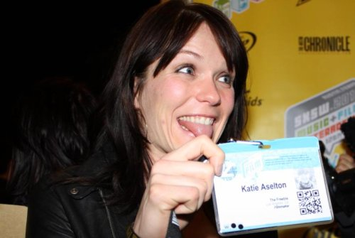 Katie Aselton of THE FREEBIE