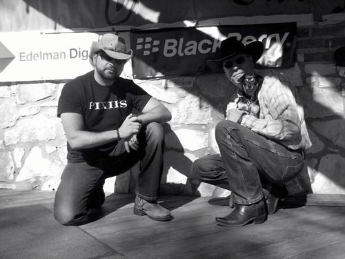 #Allhat2 Hosts. #Edelmandigital #blackberry