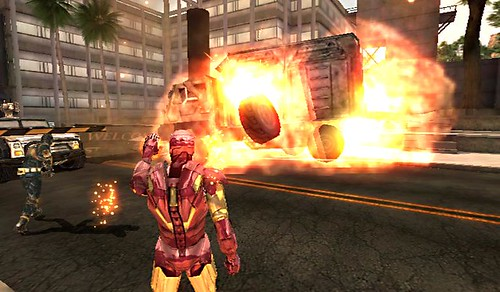 Iron Man 2 - Wii Screens