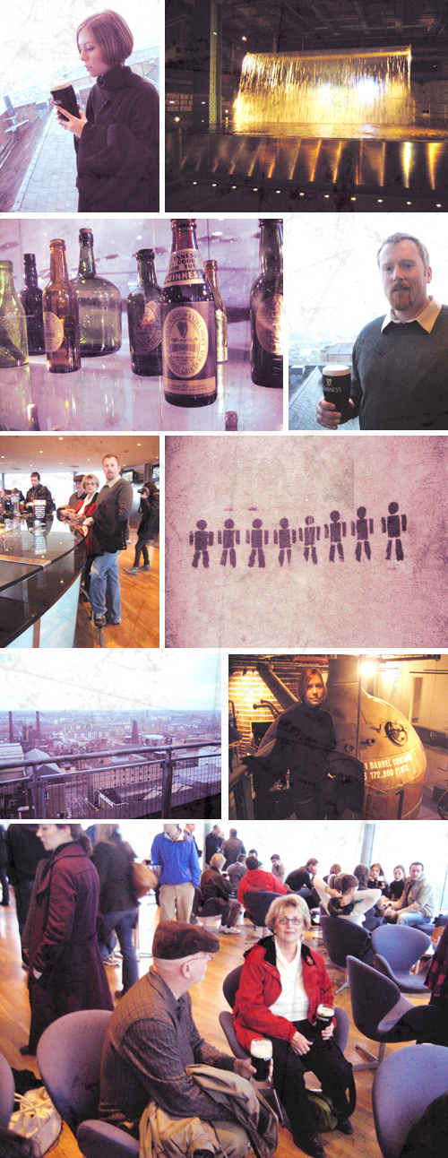 Guinness Storehouse Collage