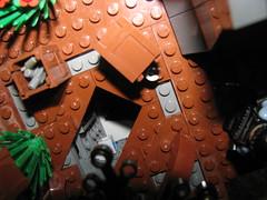Rebel Base Infiltration (80-0) Tags: underground rebel star lego hidden empire wars base alliance galactic mercenary infiltrate