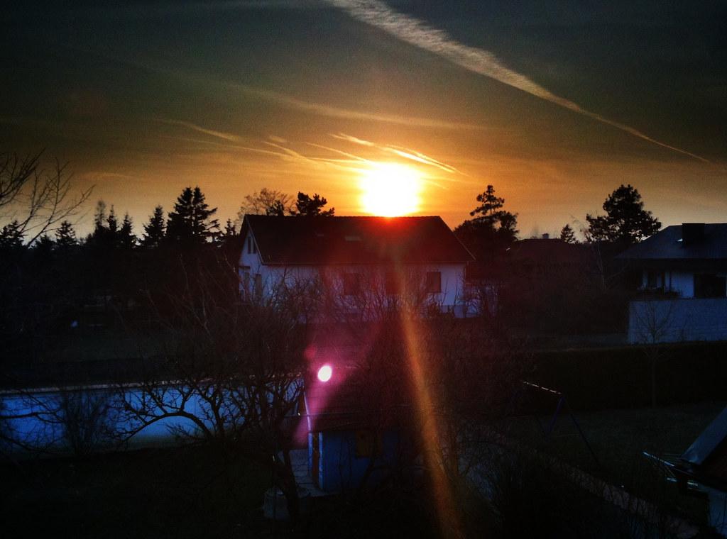 Just a warm winter evening