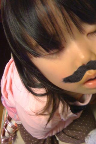 まつげちゃんは、おひげもかわいい〜♪