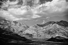 A Higher Power, Plate 2 (Thomas Hawk) Tags: california bw usa clouds unitedstates desert unitedstatesofamerica deathvalley deathvalleynationalpark natureshand