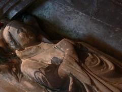 Mid C14 effigy of priest