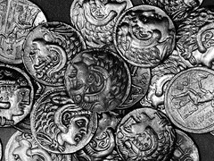 alexander the great (Peacful-Art.com ) Tags: white money black history canon silver bahrain coin ancient coins kuwait alexander g11 delmon alexanderthegreat vwc kvwc kuwaitvoluntaryworkcenter