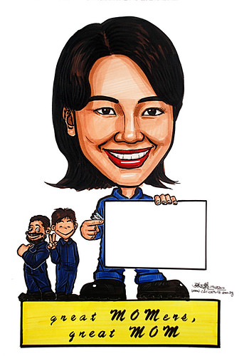 Caricature for Ministry of Manpower - 5