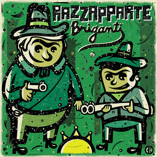 Razzapparte - Briganti CD [cover art]