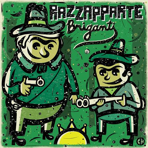 Razzapparte - Briganti CD [cover art]