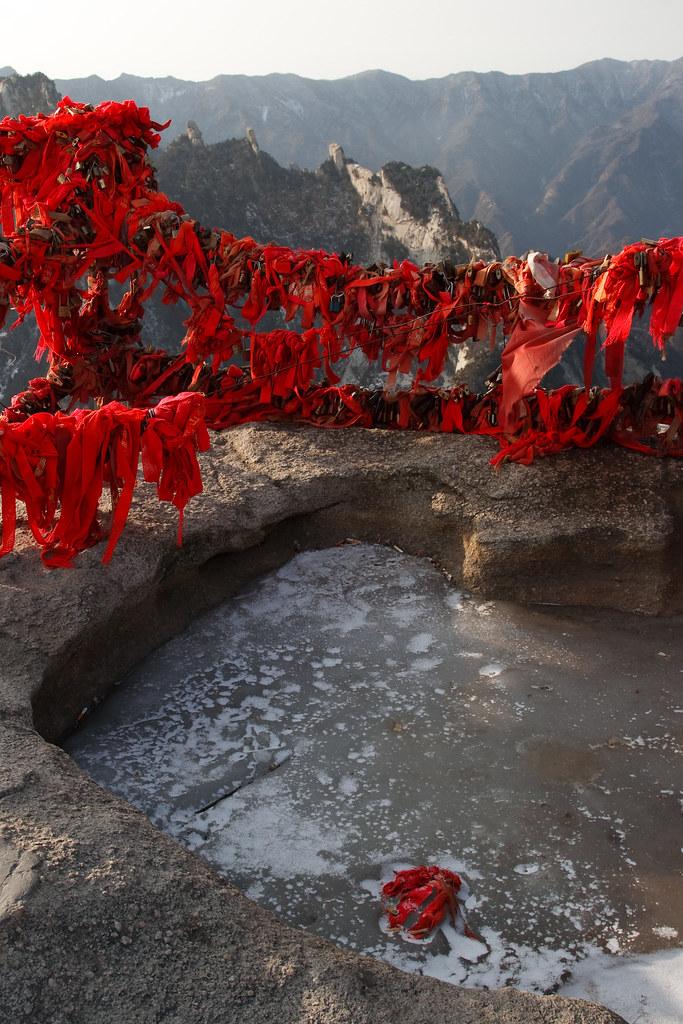 Climbing Hua Shan Mountain 华山