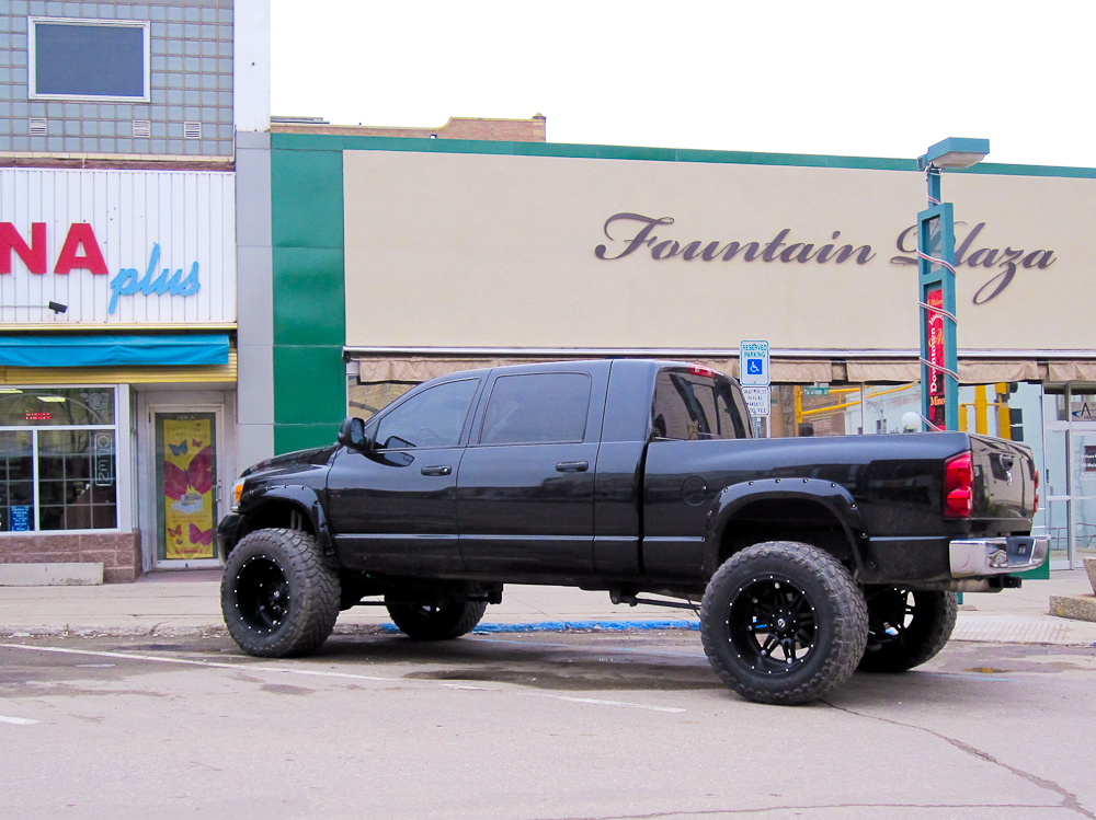 Fuel Offroad Hostages 22x14 In Black Page 5 Dodge