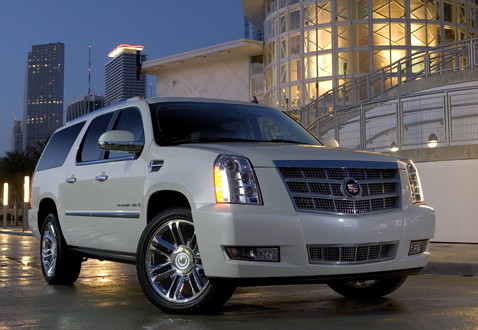 2010 Cadillac Escalade Platinum Edition - White